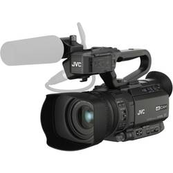 Image of JVC JVC GY-HM250E Camcorder 8.9 cm 3.5 Zoll 12.4 Megapixel Opt. Zoom: 12 x Schwarz