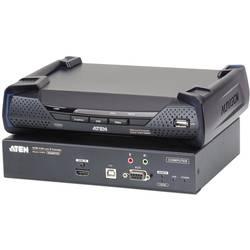Image of ATEN KE8950-AX-G HDMI®, USB, RS232, Audio-Line-out, Mikrofon-Buchse Extender (Verlängerung) über Netzwerkkabel RJ45,