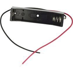Bateriový držák na 1x AAA Takachi MP41, kabel, (d x š x v) 52.5 x 13 x 11 mm