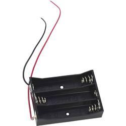 Bateriový držák na 3x AAA Takachi MP43, kabel, (d x š x v) 51 x 37 x 11 mm
