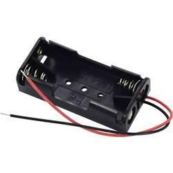 Bateriový držák na 2x AAA Takachi SN42, kabel, (d x š x v) 52.3 x 24.7 x 13 mm