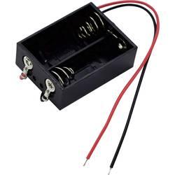 Bateriový držák na 2x N Takachi MP52, kabel, (d x š x v) 35.3 x 26.8 x 12.2 mm