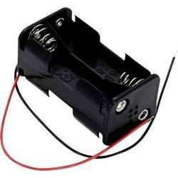 Bateriový držák na 4x AA Takachi SN34A, kabel, (d x š x v) 58 x 31 x 28 mm