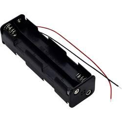 Bateriový držák na 8x AA Takachi SN38A, kabel, (d x š x v) 107.9 x 31 x 28 mm