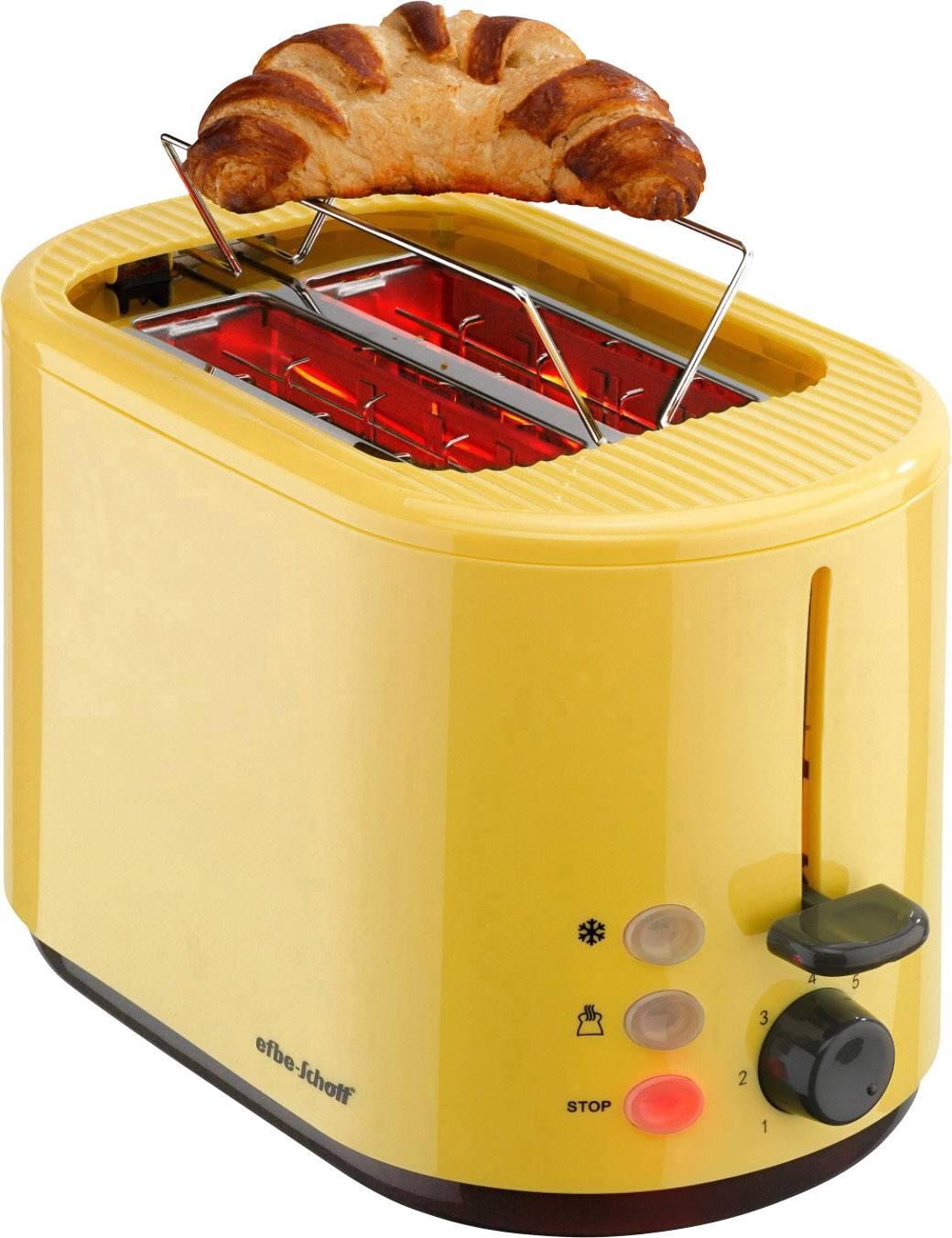 gelb Efbe-Schott Automatik-Toaster SC TO 1080.1