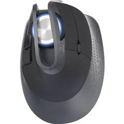 Laserová bluetooth myš, bezdrátová myš Renkforce M618X RF-3774514, tlačítka myši, USB konektor, s podsvícením, černá