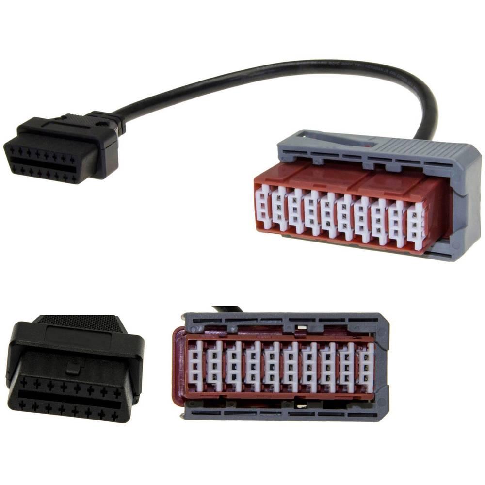 adapteruniverse Adapter Universe OBD II stekker 7385 Geschikt voor (automerken): Peugeot, Citroen