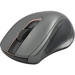 Laserový/á Wi-Fi myš Hama MW-800 00182669, podsvietenie, ergonomická, čierna
