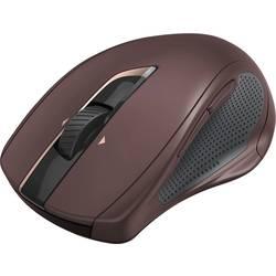 Laserový/á Wi-Fi myš Hama MW-800 00182670, podsvietenie, ergonomická, bordó