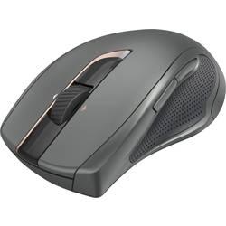 Laserový/á Wi-Fi myš Hama MW-900 00182672, podsvietenie, ergonomická, čierna