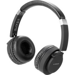 Bluetooth, káblové Hi-Fi slúchadlá On Ear Vivanco BTHP 260 37578, čierna