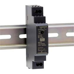 Sieťový zdroj na montážnu lištu (DIN lištu) Mean Well HDR-15-15, 1 x, 15 V/DC, 1 A, 15 W
