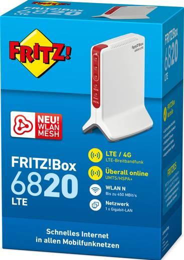 AVM FRITZ!Box 6820 LTE WLAN Router mit Modem Integriertes Modem: LTE, UMTS 2.4 GHz 450 MBit/s