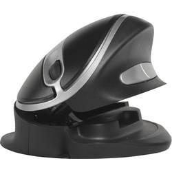 Optická USB myš BakkerElkhuizen Oyster BNEOYM, ergonomická, čierna