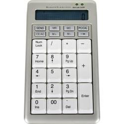 USB numerická klávesnica BakkerElkhuizen S-board 840 Design BNES840DNUM, strieborná/biela