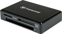 Externí čtečka paměťových karet Transcend TS-RDC8K2, USB-C™ USB 3.1, černá