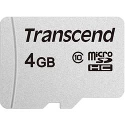 Paměťová karta microSDHC, 4 GB, Transcend Premium 300S, Class 10