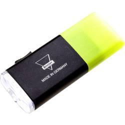 LED mini vreckové svietidlo (baterka) AccuLux Joker 408221, 36 g, napájanie z akumulátora, žltá (fluorescenčná)