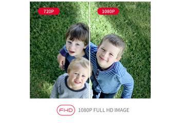 IP-Kamera 1920 x 1080 Pixel
