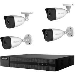 Sada bezpečnostné kamery HiLook hl414b, 4-kanálová, so 4 kamerami