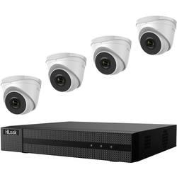 Sada bezpečnostné kamery HiLook hl414t, 4-kanálová, so 4 kamerami