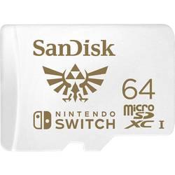 Pamäťová karta micro SDXC, 64 GB, SanDisk Extreme Nintendo Switch™, UHS-I, UHS-Class 3, vhodné pre Nintendo Switch ™