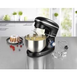 Kuchynský robot GourmetMaxx 03550, 1500 W, čierna, nerezová oceľ