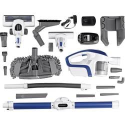 Akumulátorový vysávač CleanMaxx 09122, 230 V, 150 W, sivá, modrá