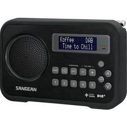 DAB+ přenosné rádio Sangean DPR-67, FM, černá