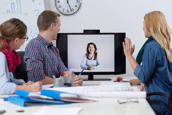 Webcam für Online-Videokommunikation