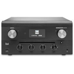 Internetové rádio s CD prehrávačom Dual CR 900 Phantom, AUX, Bluetooth, CD, DAB+, DLNA, NFC, UKW, USB, Wi-Fi, čierna