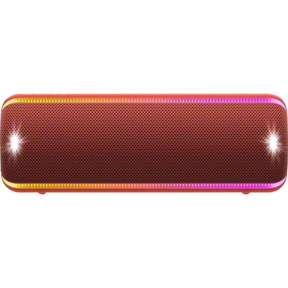 Sony SRS-XB32 Bluetooth luidspreker AUX, Outdoor, Stofdicht, Stootvast, USB, Waterdicht Rood
