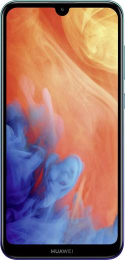 Image of HUAWEI Y7 2019 Smartphone Dual-SIM 32 GB 15.9 cm (6.26 Zoll) 13 Mio. Pixel Android™ OS Aurora Blue