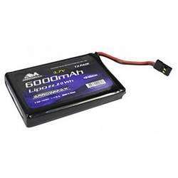 Image of ArrowMax Modellbau-Akkupack (LiPo) 3.7 V 6000 mAh Softcase JR-Buchse
