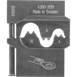 Image of Gedore 8140-04 1830589 Crimpeinsatz Unisolierte Kabelschuhe 0.75 bis 2.5 mm²