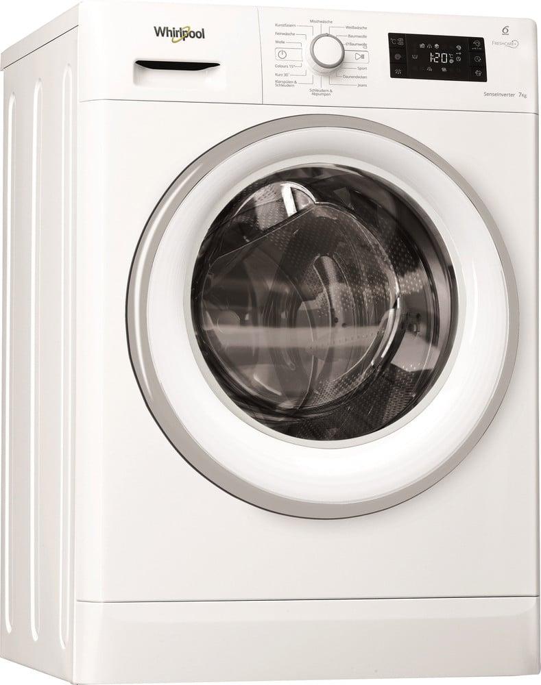 Whirlpool FWG 71484 WSE Waschmaschine EEK: A+++ (A+++ - D) Standgerät, Frontlader 7 kg 1400 U/min