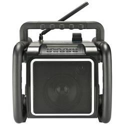 DAB+ outdoorové rádio PerfectPro Teambox, AUX, Bluetooth, UKW, USB, čierna