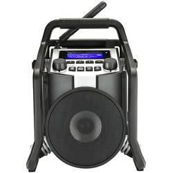 DAB+ outdoorové rádio PerfectPro PowerPlayer, Bluetooth, AUX, UKW, USB, čierna