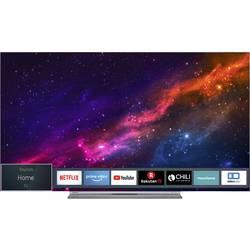 Toshiba 55X9863DA OLED TV 140 cm 55 palca en.trieda A (A ++ - E) DVB-T2, DVB-C, DVB-S, UHD, Smart TV, WLAN, CI+ strieborná