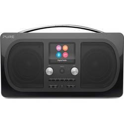 DAB+ stolné rádio Pure Evoke H6 Prestige, AUX, Bluetooth, UKW, čierna
