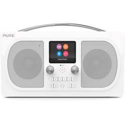 DAB+ stolné rádio Pure Evoke H6 Prestige, AUX, Bluetooth, UKW, biela