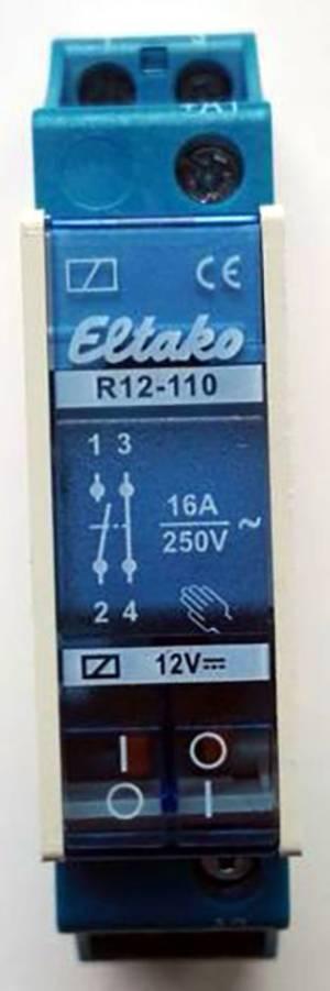 Eledis 1A12-NF1STSE Kippschalter 250 V//AC 2A 1 x Ein// Ein tastend 1St.