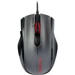 Optická USB herná myš SpeedLink Assero SL-680007-BK, podsvietenie, čierna, sivá