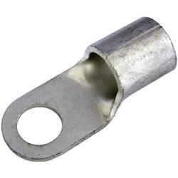 Guľaté káblové oko Weidmüller KQN-M12/-6 1494000000, průřez 6 mm², průměr otvoru 3.6 mm, neizolované, 100 ks