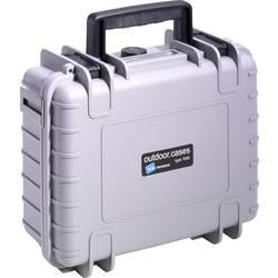 4.1 l B & W outdoor.cases Typ 1000 šedá 1000/G/SI