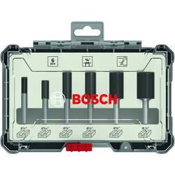 "Image of Nutfräser Set, 6 tlg., ¼"" Schaft Bosch Accessories 2607017467"