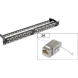 Sieťový Patchpanel Renkforce KSV10, 24 portů, CAT 6, 1 HE