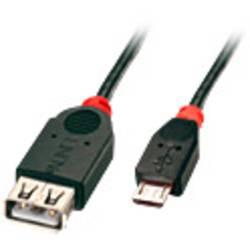 Prepojovací kábel LINDY LINDY USB 2.0 Kabel Typ Micro-B / A 31936, 1.00 m, čierna