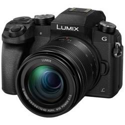 Systémový fotoaparát Panasonic DMC-G70MEG-K, 16 MPix, čierna