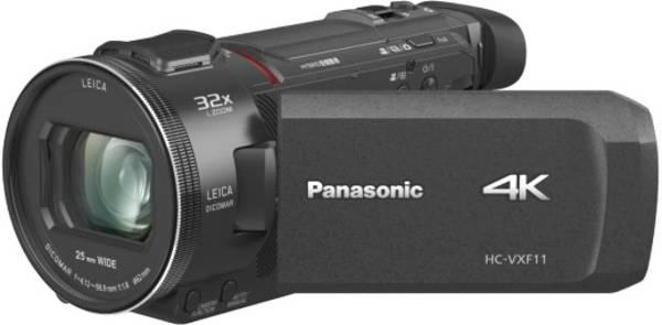 Panasonic 4K-Camcorder mit 32x Zoom in schwarz für qualitative Videos.